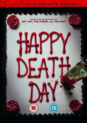 Happy Death Day (DVD + digital download) [2017], New, DVD, FREE & FAST Delivery