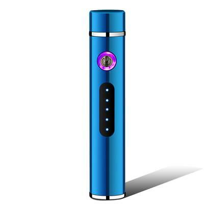 USB Electric Dual Arc Flameless Torch Rechargeable Windproof Cigarette Lighter-4