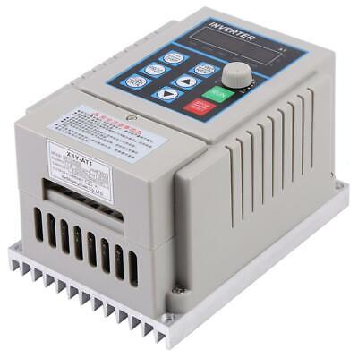 220V 0.75kW Variable Frequency Drive VFD Speed Control Inverter Single Phrase 5A
