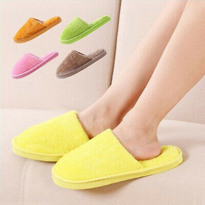AA Home Anti-slip Shoes Men Women Soft Warm  Indoor Slippers Cotton Sandal House