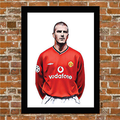 Manchester United - Anthony Martial - Man Utd - Framed Print Poster Picture!