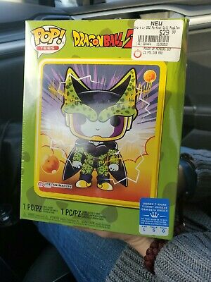 Funko Pop! Dragon Ball Z Metallic Perfect Cell GameStop Exclusive Large T-Shirt