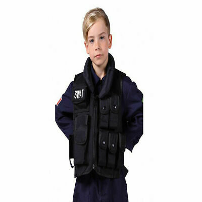 KAS Kids S.W.A.T Short Sleeve Childrens Forces Army Police T Shirt New Roleplay