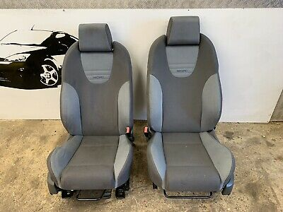 FORD FOCUS ST RECARO TAILORED SINGLE SEAT COVER IN BLACK 2017 On 162