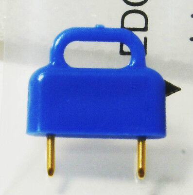 Connector 2 Contact Gold Plated Concord set of 10