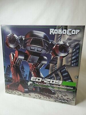 """NECA RoboCop ED-209 Deluxe Boxed 10"""" Action Figure With Sound New Sealed"""
