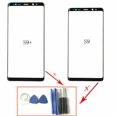 For Samsung Galaxy S9 S9 Plus G960 Front Glass Lens Touch Screen & Tools Replace