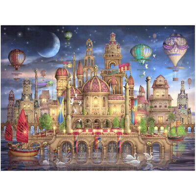 Dream castle counted or printed on fabric 14CT 11CT Cross Stitch kits,embroidery