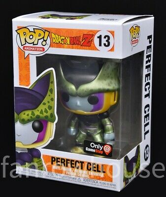 Funko Pop! PERFECT CELL (Metallic) #13 Dragon Ball Z - GameStop Exclusive