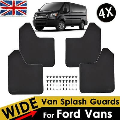 For Ford Transit Connect Courier Custom Tourneo Mud Flaps Mudguards Fender 4Pcs