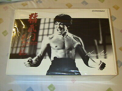 Bruce Lee 1//6 Fist of Fury Black Suit Kung Fu Shirt Enterbay DX04 Hot