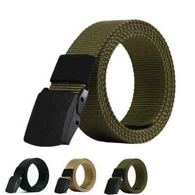 Outdoor Sports Military Fashion Belts Tactical Nylon Waistband Canvas Web Belt