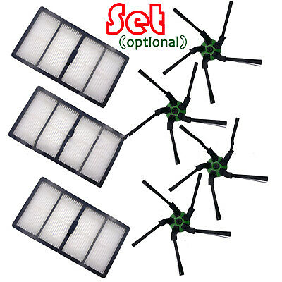 Vacuum Cleaner Side Brushes Filter Set for irobot S9 Sweeping Robot Assembly