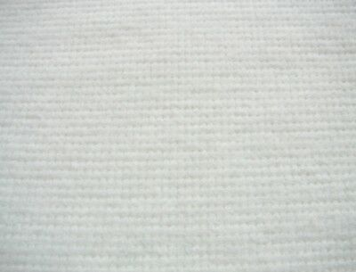 2m White curtain interlining 220g//m2 Sarille synthetic medium weight 137cm 54in
