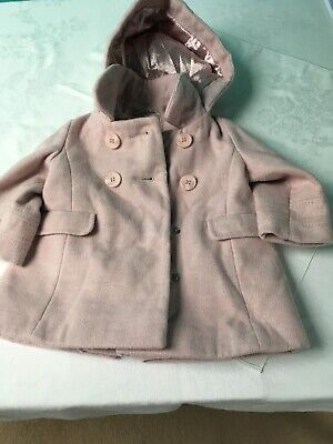 Next Girls Coat Age 6 To 9 Months