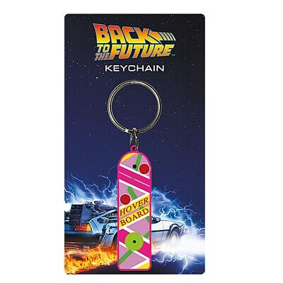 Genuine Back To The Future II Hoverboard Rubber Keyring Fob Universal Studios