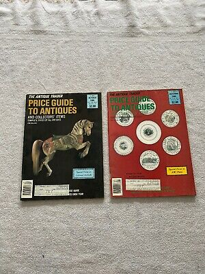 The Antique Trader Price Guide To Antiques And Collectors Items 1986 Oct & Dec