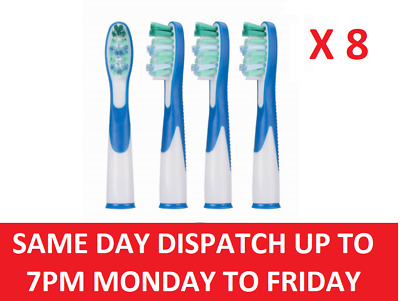 Braun Oral-B Sonic Complete Vitality Toothbrush Replacement Brush Heads X 8