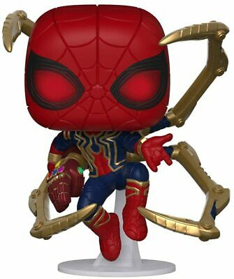 Funko Pop Marvel: Avengers Endgame - Iron Spider with Nano Gauntlet Vinyl Figure