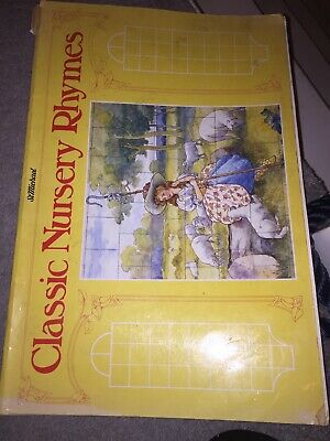 St Michael Classic Nursery Rhymes Illustrated Book With Colour Tiles