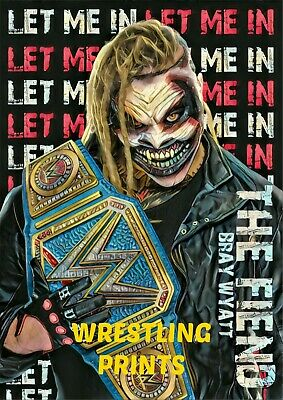 MAKE YOUR SELECTION WWE NXT BRAY WYATT FIEND 230GSM NEW