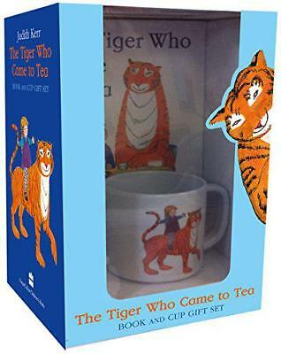 The Tiger Who Came to Tea Book and Cup Gift Set by Kerr, Judith, NEW Book, FREE
