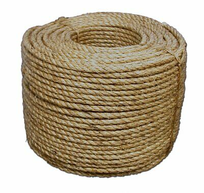 Tytan 3//8 Inch x 1200 Feet Twisted Manila Rope MN381200SP 101-242 lbs working