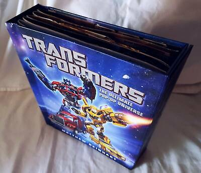 """TRANSFORMERS: THE ULTIMATE POP-UP UNIVERSE """"By Matthew Reinhart"""" (Collectable)"""