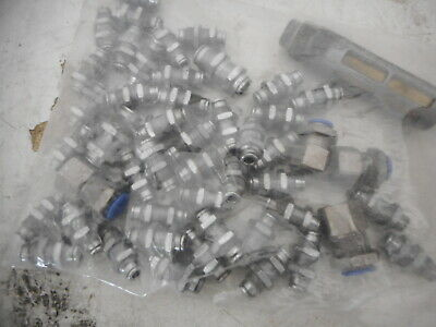 Bulk lot -- AIRLINE PNUEMATIC BULKHEAD FITTINGS -- as pictured.