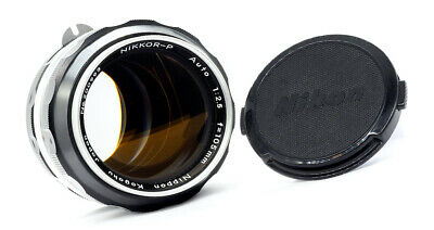 NIKON NIKKOR-P AUTO 105mm f2.5 - 1970 - MINTY! *A STUNNING EXAMPLE!*