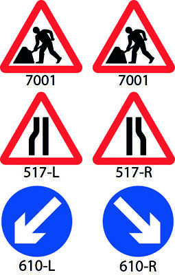 Chapter 8 Road Works Cone Sign 750mm