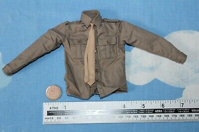 DID DRAGON IN DREAMS 1:6TH SCALE WW2 BRITISH 1ST AIRBORNE SHIRT /& TIE FROM ROY