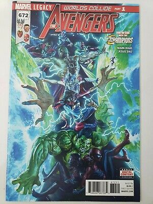 Marvel Legacy The Avengers Vol 1 #672 NM