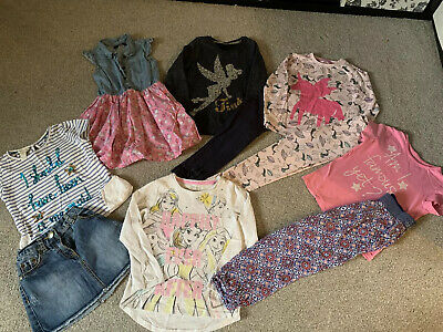 Girls 5-6 Years Disney / Monsoon Very Clothes Bundle Pyjamas Sequin Outfits