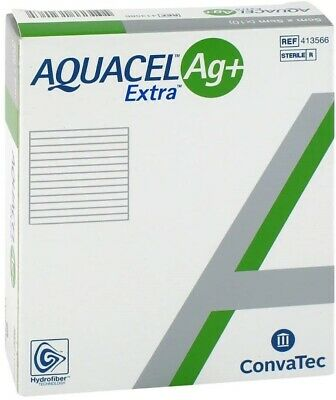 Aquacel AG+ Extra Silver Hydrofiber Wound Dressing | All Sizes | Top UK Seller