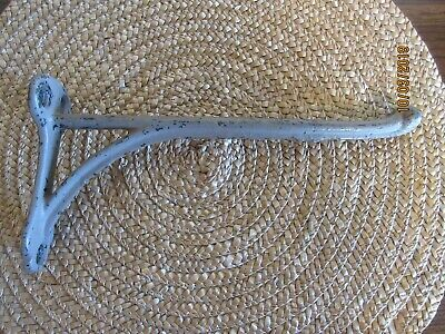"""Antique Cast Iron 9 3/4"""" Harness Hook, Barn, Stable, Horse, Rustic Primitive"""