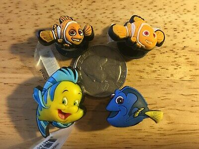 Nemo Flounder Dory Authentic Jibbitz Shoe Charm Fit Crocs