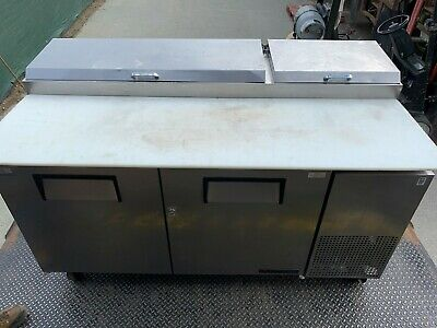 True TPP-67 Two Door Refrigerated Prep Table