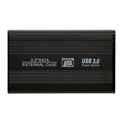 Cablecc 2.5 inch Sata 22p 7+15 SSD to USB 3.0 External Hard Disk Enclosure