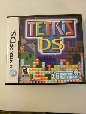 Tetris DS (Nintendo DS, 2006) Most addictive fun game best puzzle of all time