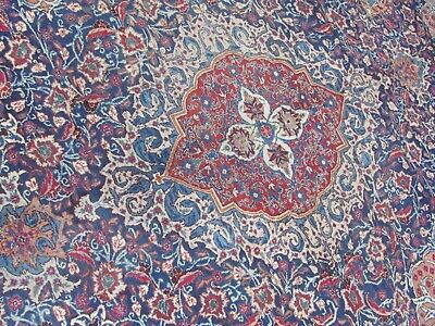 A STYLISH OLD HANDMADE TRADITIONAL ORIENTAL CARPET . (389 x 305 cm)