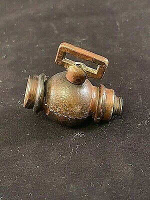 Antique Solid Brass Lamp Knuckle Part