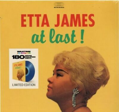 James- Etta- At Last! (Limited Edition Blue Colored Vinyl)