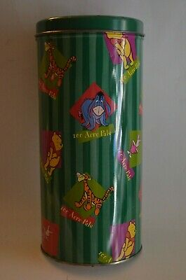 Limited Edition Disney 100 Acre Pals Collectible Tin (empty).