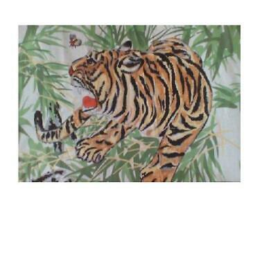 """Tiger Print Fabric 24"""" x 45"""" skirt,Table Curtain Pillow Case wall picture"""