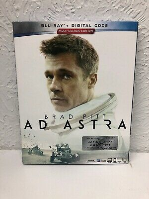 Ad Astra Blu-Ray + Digital Hd Brand New Sealed. Beware Of Fake Blu Rays Sold