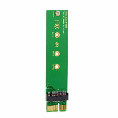 Cablecc NVME AHCI SSD NGFF M-key to PCI-E 3.0 1x x1 Vertical Adapter