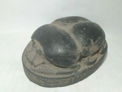 Rare Ancient Egyptian Antique Scarab 1456-1236 Bc (3)