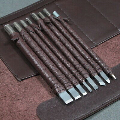 Carved Stone Carbide Steel Carving Chisel Craft Tools