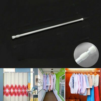 Extendable Telescopic Spring Loaded Net Voile Tension Curtain Rail Pole Rod J6U